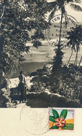 Wallis Futuna Pacific Islands  Stamped 1958  Mata Utu First Day Cancel To Villiers Sur Marne - Wallis And Futuna