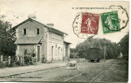 LE SENTIER MONTHODON - LA GARE - CLICHE TRES RARE - - Sonstige Gemeinden