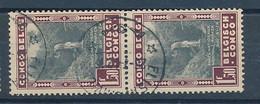 "BELGIAN CONGO NATIONAL PARK ""PETIT LAC"" COB 226 V USED - 1923-44: Gebraucht"