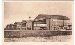 Aéroport Du Bourget / Les Hangars Bessonneaux En Ciment Armé / CPSM PF / Ed. Godneff - Aerodrome