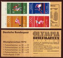 Allemagne Federale Carnet 1972 Yvert C586 ** TB - Postzegelboekjes