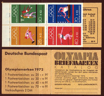 Allemagne Federale Carnet 1972 Yvert C586 ** TB - Booklets
