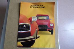 CITROEN 2CV - DYANE - Publicité, Prospectus ( Voiture Automobile Cars ) - KFZ