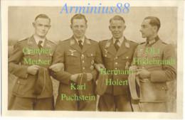 1940 - Sainte-Sabine, Côte-d'Or - Le Château - Meuser, Puchstein, Holert, Hildebrandt - Luftwaffe - Aufklärungsgruppe 21 - War, Military