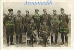 1940 - Sainte-Sabine, Côte-d'Or - Le Château - Puchstein, Holert, Hildebrandt, Meuser - Luftwaffe - Aufklärungsgruppe 21 - War, Military