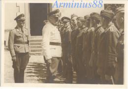 1940 - Sainte-Sabine, Côte-d'Or - Le Château - Cérémonie De Remise De La Croix De Fer - Luftwaffe - Aufklärungsgruppe 21 - War, Military