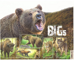 Belgique 2020 - Fauna - The Big Five Of Europe - MNH -  Les Big 5 D'Europe - MNH - - Unused Stamps