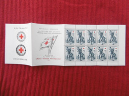 CARNET CROIX ROUGE 1955 NEUF GOMME ORIGINE - Rode Kruis