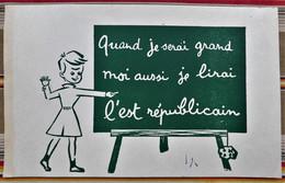 Ancien Buvard D'Ecole PUBLICITAIRE L' EST REPUBLICAIN Ecole Tableau - Autres