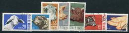 ROMANIA 1962 Domestic Livestock Used.  Michel 2117-23 - Gebraucht