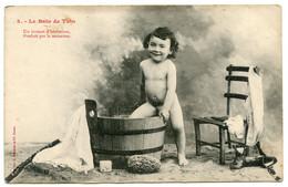 Cpa, 3 - Le Bain De Toto - Phototypie A Bergeret & Cie Nancy  /501 - Neonati