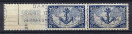 FRANCE 1951:  Paire Du Y&T 889, Obl. CAD - Oblitérés