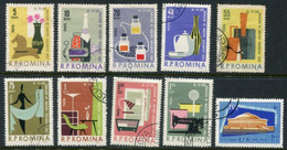 ROMANIA 1962 Bucharest Trade Fair Used.  Michel 2105-14 - Used Stamps