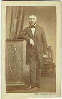 Photo CDV. Homme Notable Et Rouflaquettes. Tournai, Foto Louis Duchatel. - Old (before 1900)
