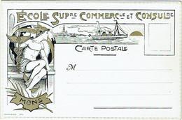 Mons. Ecole Supérieure Commerciale Et Consulaire. Ed.Coppin-Goisse, Ath - Mons