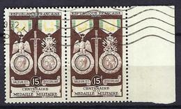 FRANCE 1952:  Paire BDF Du Y&T 927, Obl. CAD - Oblitérés