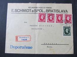 BRIEF Bratislava - Chrudim 1939   / H8704 - Sin Clasificación