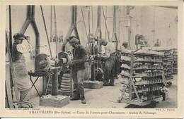 70 - Haute Saone - Aillevillers - Usine De Formes Pour Chaussures - Atelier De Polissage - Unclassified