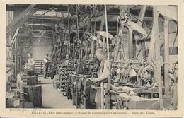 70 - Haute Saone - Aillevillers - Usine De Formes Pour Chaussures - Salle Des Tours - Unclassified