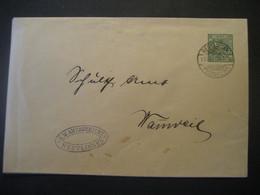 Altdeutschland Württemberg 1908- Ganzsache Schultheissenamt- Beleg Mi.Nr. 229 Gelaufen Von Reutlingen Nach Wannweil - Wurtemberg