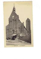 Cpa - 50 - MORTAIN - La Collégiale - N°1 L'Abeille - Vespasienne Pissotière - Otros Municipios