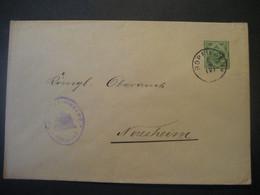 Altdeutschland Württemberg 1907- Ganzsache Schultheissenamt- Beleg Mi.Nr. 229 Gelaufen Von Bopfingen Nach Neresheim - Wurtemberg