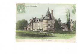 Cpa - 50 - CANISY - Le Château - Tour - 1906 - N°65 Manche Pittoresque - Otros Municipios