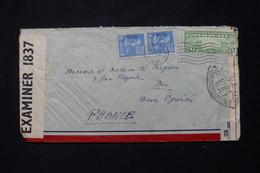 ETATS UNIS - Enveloppe De Bryn Mawr En 1941 Pour La France Avec Contrôle Postal - L 79076 - Cartas