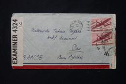 ETATS UNIS - Enveloppe De Bryn Mawr En 1942 Pour La France Avec Contrôle Postal - L 79077 - Cartas
