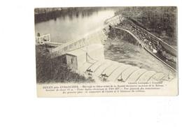 Cpa - 50 - DUGEY Près AVRANCHES - Barrage En Béton Armé Société Des Forces Motrices De La Selune USINE HYDRO ELECTRIQUE - Otros Municipios