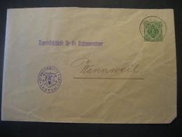 Altdeutschland Württemberg 1906- Ganzsache Schultheissenamt- Beleg Mi.Nr. 229 Gelaufen Von Lustnau Nach Wannweil - Wurtemberg