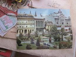 The Singing Postcards Colorvox Szombathely Koztarsasag Ter - Cartoline Con Meccanismi