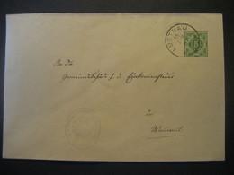 Altdeutschland Württemberg 1907- Ganzsache Schultheissenamt- Beleg Mi.Nr. 229 Gelaufen Von Lustnau Nach Wannweil - Wurtemberg