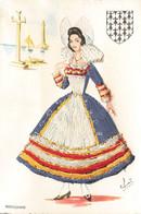 BRETONNE , Les Costumes De France - Ricamate