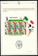 Italia/Italie/Italy: Bollettino Informativo Delle Poste, Juventus Campione D'Italia 2018/19, Juventus Italian Champion - Famous Clubs