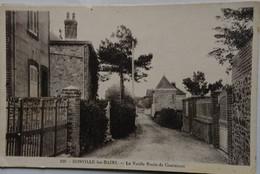50 Manche CPA Donville Les Bains La Vieille Route De Coutances - Otros Municipios