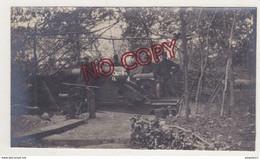 Fixe Military WW1 1914 1918 Canon Armement Secteur St Julien Sous Les Côtes Meuse Beau Format - War, Military