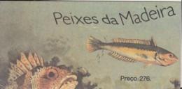 MADEIRA Markenheftchen 9, Gestempelt, Fische 1989 - Madeira