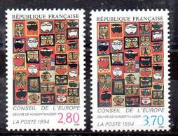 Francia Serie Servicio N ºYvert 112/13 ** - Neufs