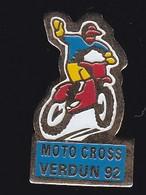 68473-Pin's-Moto Cross 92.Verdun. Meuse - Motos