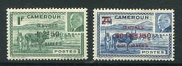 CAMEROUN- Y&T N°263 Et 264- Neufs Avec Charnière * - Unused Stamps