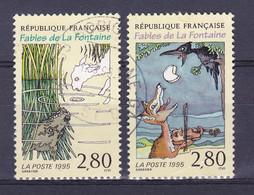 TIMBRE FRANCE N°2960.2961 OBLITERE - Usati