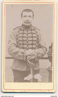 CDV - Portrait Militaire - Un Chasseur à Cheval - Maréchal Ferrand - Anonyme (Ca 1895-1900) (BP) - War, Military