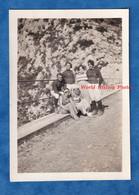 Photo Ancienne Snapshot - Sud De La France , Prés Marseille ? - Portrait De Jeune Fille & Garçon Sportif Ou Militaire - War, Military