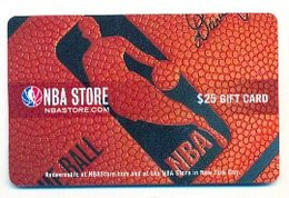 NBA Store, U.S.A., Gift Card For Collection, No Value, # Nba-1 - Gift Cards