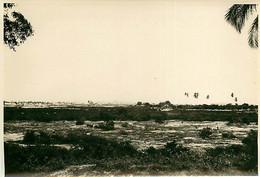 231120A - PHOTO Années 1920 - TANZANIE ZANZIBAR Paysage Et Maisons Au Loin - Tanzania