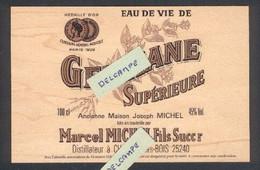 Carte Postale En Bois D'érable - Gentiane Supèrieure - Distillation - Andere