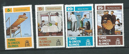 Turks Et Caiques ( 1982) - Série Yvert N°   587   à    590  **  4 Valeurs Neuves Sans Charnière  - Lr 33005 - Turks And Caicos