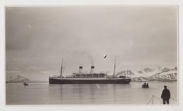 Monte Olivia In Der Magdalenenbucht Auf Spitzbergen, Foto (Spitsbergen, Schiff, Ship) - Norwegen