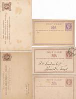Lot De 5 Entier Postaux Grande Bretagne   Britain, Entier Postal  United Kingdom - Postwaardestukken